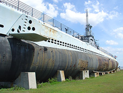 USS Drum (SS-228) at Battleship Memorial Park in Mobile, AL