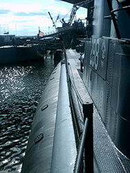 USS Lionfish (SS-298) at Battleship Cove in Fall River, MA